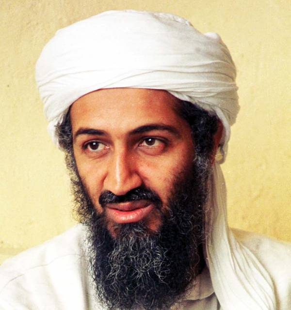bin laden face in smoke. in laden face in smoke. from