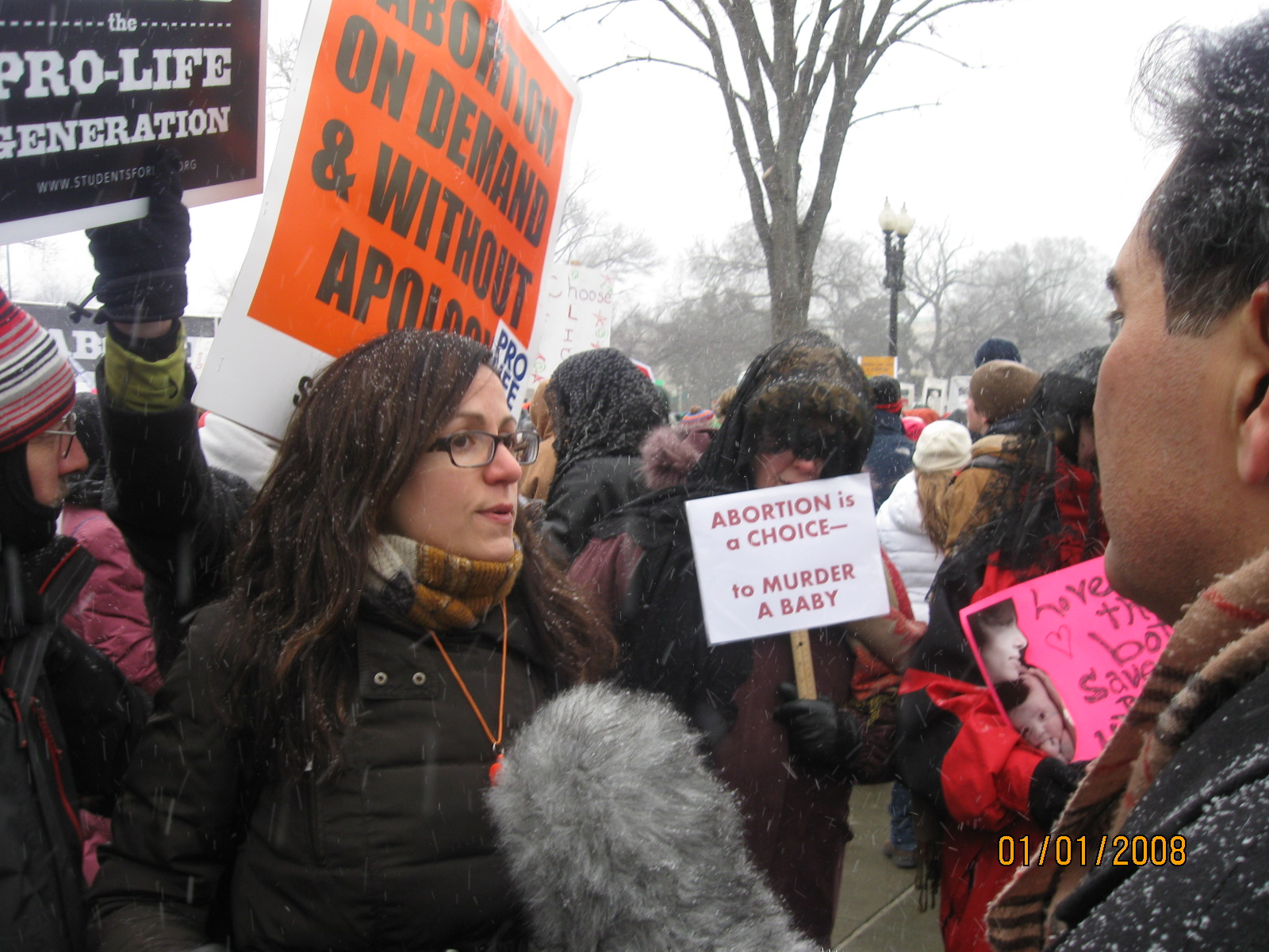 brave but incoherent Reflections on the March for Life 2013