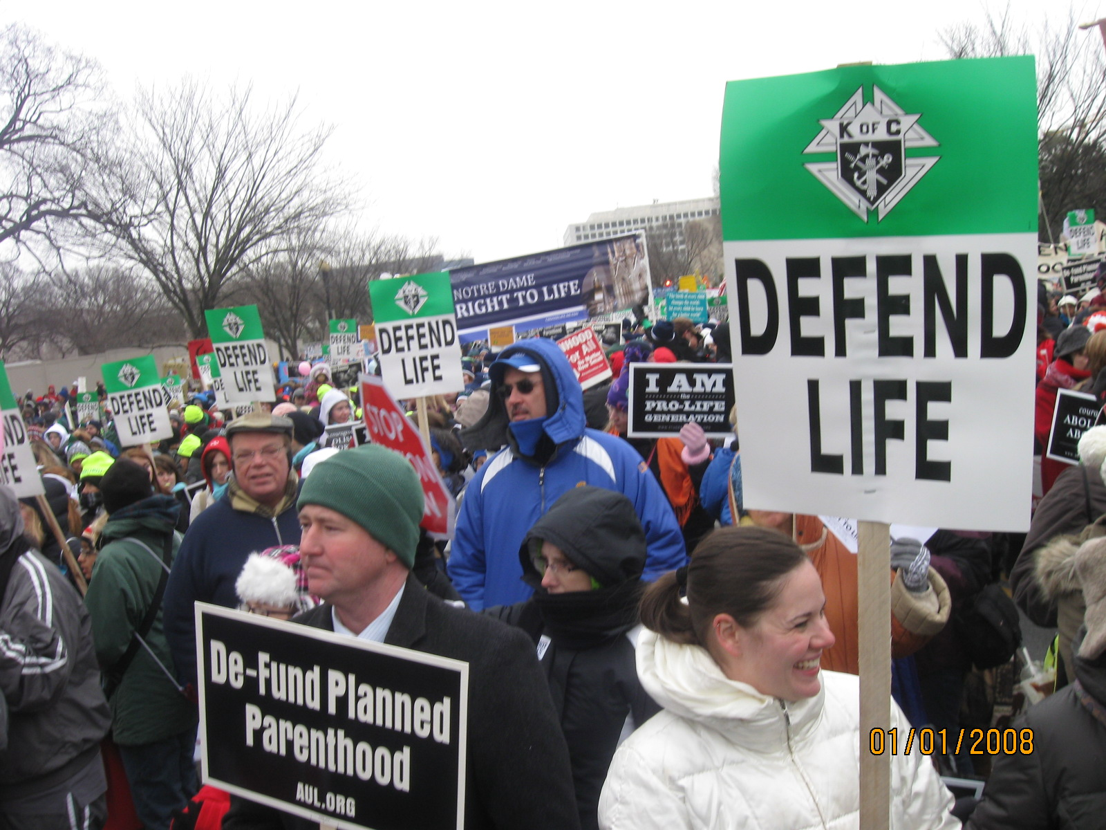 more people than you can shake a stick at Reflections on the March for Life 2013