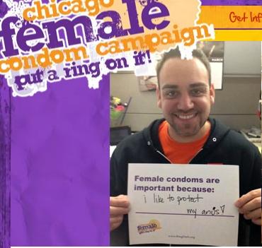 a guy who really likes female condoms